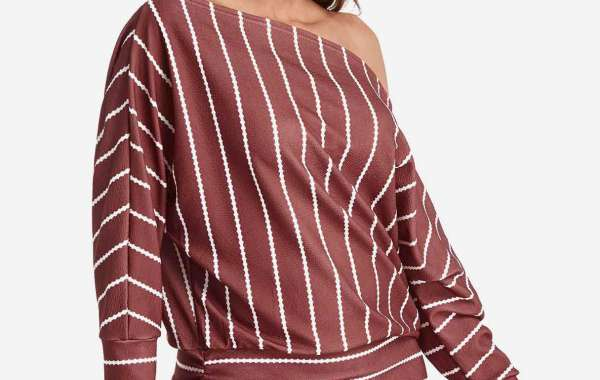 Round Neck Plain Tiered See Through Long Sleeve Red Plus Size Tops