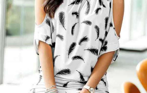 Bodycon V-Neck Single Breasted T-shirts